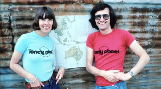 Maureen and Tony Wheeler, co-founders of Lonely Planet. (Photo courtesy of subject)