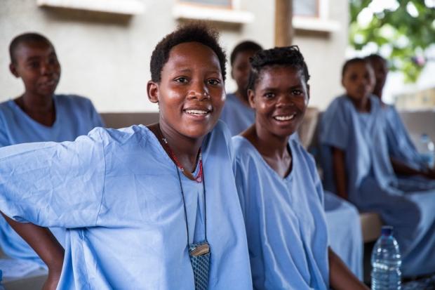 Photos Courtesy of Vodafone Foundation/ Fistula Patients receive treatment at CCBRT in  Tanzania.